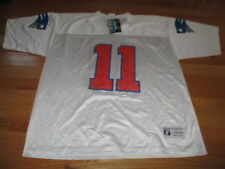 Logo Athletic DREW BLEDSOE No. 11 NEW ENGLAND PATRIOTS (Size 46-48) Jersey w Tag