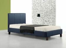 Blue Leather Beds & Mattresses