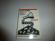 Practical Magic Steve Lankton, Hardcover, 1980 First Ediiton  B4