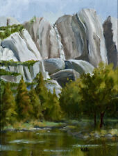 Upper Yosemite Falls - a study for larger painting - special price through March