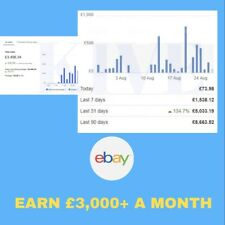 I WILL BE YOUR BUSINESS PARTNER FOR 1 YEAR TO MAKE YOU £30,000+ PER YEAR