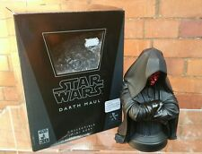 Star Wars Darth Maul Statue Bust Gentle Giant - Boxed limited