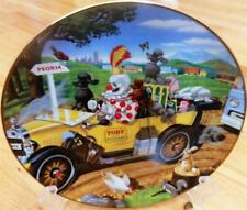 Ron Lee Toby the Clown Poodle Will It Play In Peoria Limited Edition Plate + COA