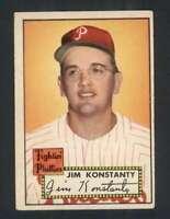 1952 Topps #108 Jim Konstanty EX/EX+ Phillies 109167