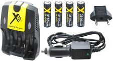 3100mAh 4AA BATTERY + AC/DC CHARGER FOR NIKON COOLPIX L20 L10