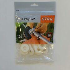 12 Kunststoffmesser / Stihl Polycut, 4111 007 1001, Polycutmesser, 4 Sätze