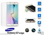 Samsung Galaxy S7 EDGE COMPLETO 3d Curvado Transparente Templado LCD CRISTAL