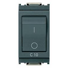 VIMAR IDEA INTERRUTTORE MT 1P+N C10 120-230V GRIGIO 16505.10