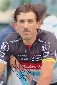 FABIAN CANCELLARA 2 Olympia Tour Foto 20x30 signiert IN PERSON Autogramm signed
