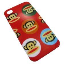 cover custodia rigida Iphone 4 4S  nuova versione logo scimmia rosso new