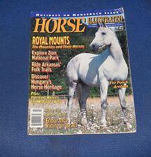 HORSE ILLUSTRATED FEBRUARY 1993 - THE POLISH ARABIAN/ROYAL MOUNTS
