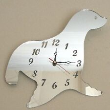 Seal Clock Acrylic Mirror (Several Sizes Available)