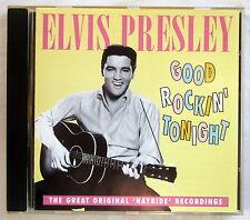 CD Good rockin 'Cette nuit-Elvis Presley