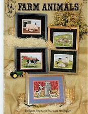 Cross Stitch: Farm Animals - Pegasus- Retail $7.00