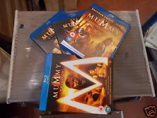 THE MUMMY TRILOGY BLU-RAY BOX SET 3 DISC