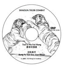 DVD - Shaolin Tiger Combat San Sau - Tiger Claw techniques and Applications