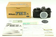 【MINT+  in Box】Nikon FM3A BLACK 35mm SLR Film Camera Body from JAPAN 363