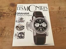 Used - Booklet DES MONTRES GRAHAM Horlogerie à l´anglaise Folleto French - Usado