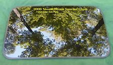 2006 NISSAN ALTIMA  OEM FACTORY SUNROOF GLASS SCRATCHES ON SALE  FREE SHIPPING!
