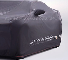 50th Anniversary OE GM Indoor Dust Car Cover Black for 2016-2018 Camaro 23248241