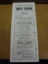 20/11/1971 Dartford v Poole Town  (Light Crease, Punched Holes, Fold, Scores Not