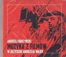 ANDRZEJ KORZYNSKI - MUZYKA Z FILMOW ANDRZEJA WAJDY NEW & SEALED  OST SOUNDTRACK