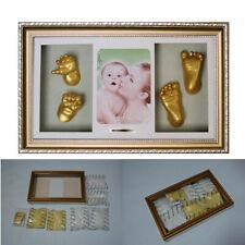 Euratio Baby Babygalerie Bilderrahmen Fotorahmen mit Gipsabdruck Bilder Foto