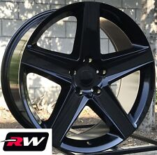 """20"""" inch RW Wheels for Jeep Grand Cherokee Staggered Gloss Black Rims SRT8 2006"""