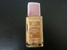 Revlon Age Defying Makeup/Foundation - NATURAL BEIGE #06-NORMAL/COMBINATION-New