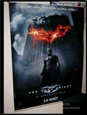 "HUGE Original 2008 BATMAN THE DARK KNIGHT French Advance Banner D/S 57"" X 76"""