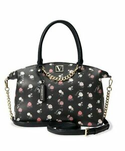 VICTORIA'S SECRET The Victoria Slouchy Satchel in Rose, NWT!
