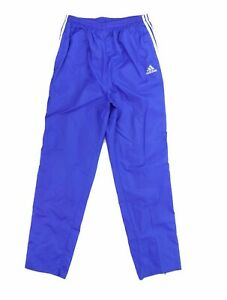 VTG Adidas Men Large Fifa Womens World Cup USA 1999 Windbreaker Pants Blue