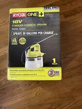Ryobi One+ 18-Volt Cordless Chemical Sprayer w/ 1 Gallon Tank Garden Tool Only