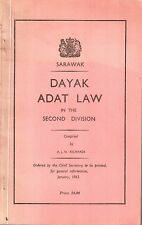 Dayak Adat Law  in the Second Division - AJN Richards