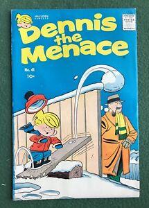 Dennis the Menace #41 Hallden Fawcett Silver Age Hank Ketcham fine