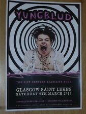 Yungblud - Glasgow march 2019 live music show memorabilia concert gig poster
