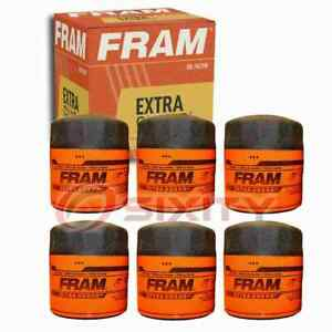 6 pc FRAM Extra Guard PH3614 Engine Oil Filters for 2900535100 600-211-6240 kv