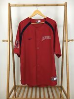 Nike Genuine Los Angeles Angels MLB Baseball Jersey Size L