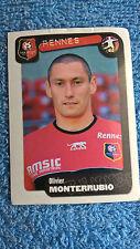 Panini Football Foot 2005 Rennes Stade Rennais 317 Olivier Monterrubio