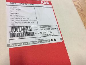 ABB T4N150TW 3 POLE 150A  600V MOLDED CASE CB T4N T MAX SERIES  *NEW IN BOX!*
