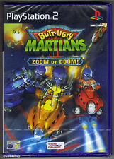 PS2 Butt-Ugly Martians Zoom or Doom! (2002), UK Pal, New & Sony Factory Sealed