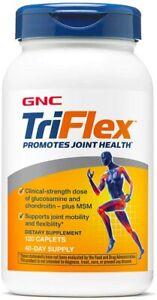 GNC TriFlex Supplement, 120 Tablets, Joint Support