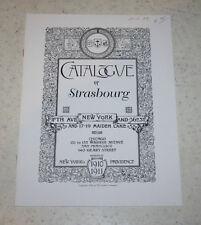 1910 Gorham Strasbourg Sterling Silver sales catalog reprint (1997, 1st Prtg)