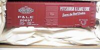 Accurail HO 8111 Pittsburgh & Lake Erie 40 'AAR Steel Boxcar # 20697