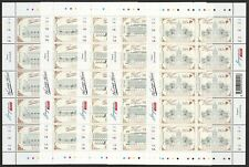 SINGAPORE 2019 HERITAGE HOTELS 5 x FULL SHEET OF 10 STAMPS EACH MINT MNH UNUSED