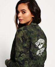 New Womens Superdry Sd-1 Bomber Jacket Camo
