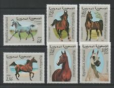 Thematic Stamps Animals - SAHARA 1997 HORSES 6v mint