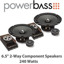 """Powerbass 2XL-63C - 6.5"""" 2-Way Car Door Component Speakers 240 Watts"""