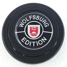 VW Wolfsburg logo steering wheel horn push button for Momo Sparco OMP Nardi etc