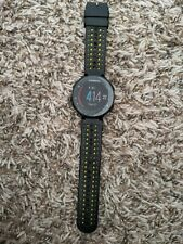 Garmin Forerunner 235 Watch - Black Face With Black and Yellow Band